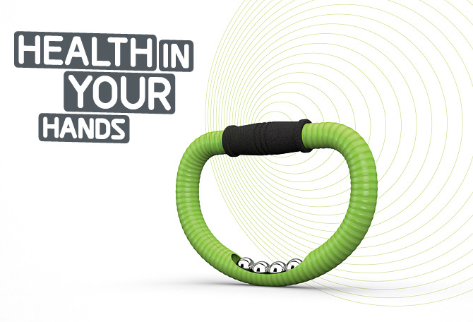 Health in Your hands mit Ring